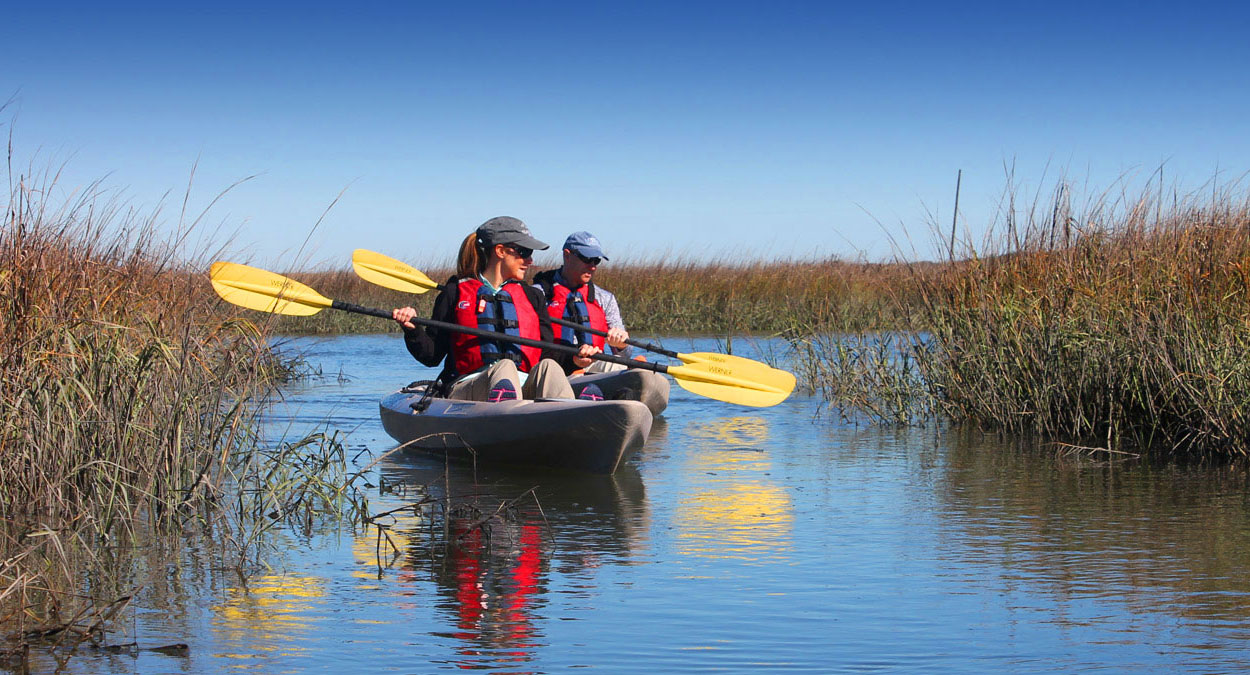 Guided Kayak Tours, paddle board tours, boat tours