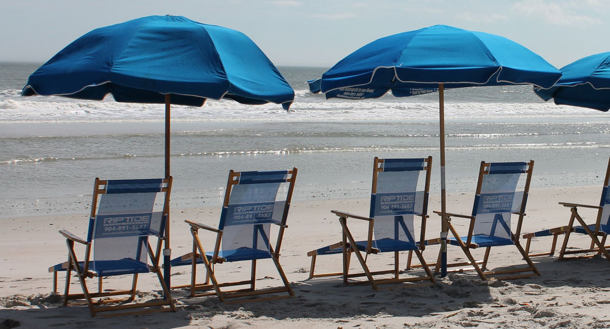 beach chairs rentals delivery and setup