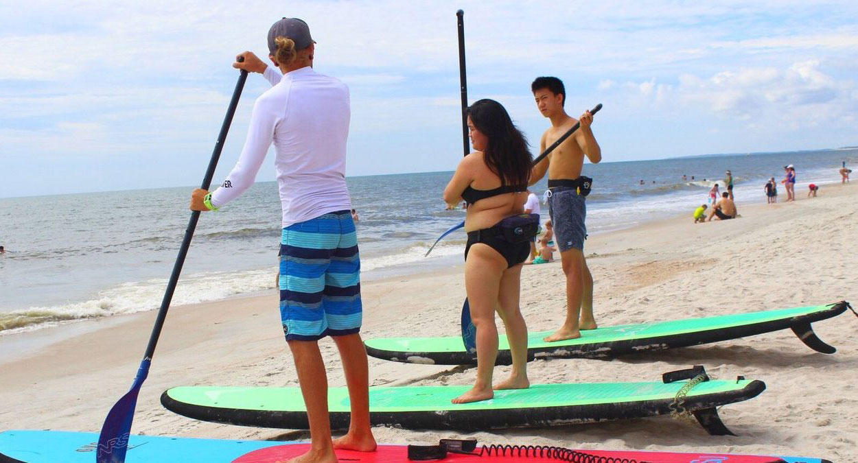 Stand up paddle board & surfing lessons